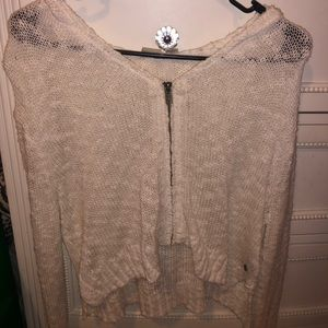 !!BRAND NEW!! roxy cropped zip hoodie/cardigan